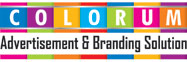 COLORUM Advertisement and Branding Solution LOGO